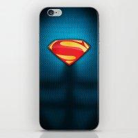 Man of Steel Suit iPhone & iPod Skin