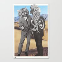 They Made Us Detectives (1979) Canvas Print