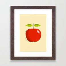 Apple 28 Framed Art Print
