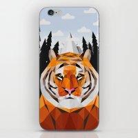 The Siberian Tiger iPhone & iPod Skin