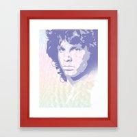 The Lizard King Framed Art Print