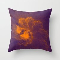 Fractal 8 Throw Pillow