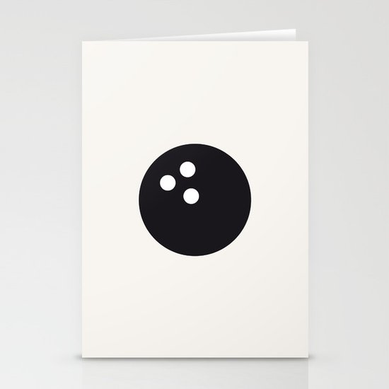 Bowling - Balls Serie Stationery Card