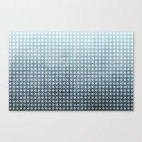 Ocean - Textured Pattern Canvas Print