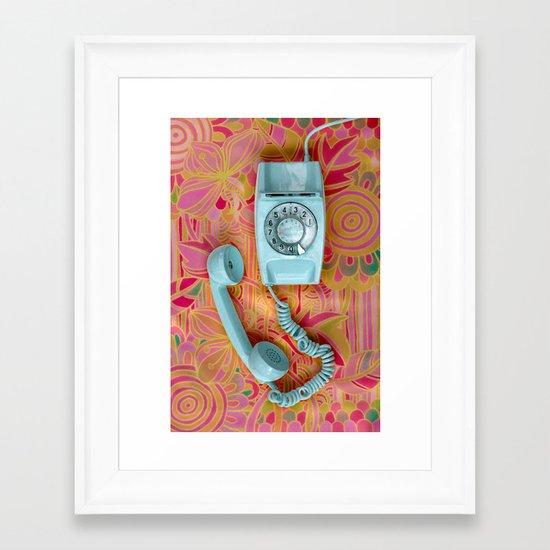It's for you ... Framed Art Print