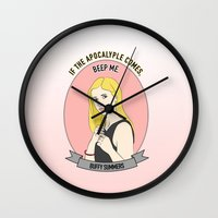 Buffy Summers - Apocalypse Print Wall Clock