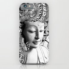 Bliss of Being - Black and White Buddha Art iPhone 6 Slim Case
