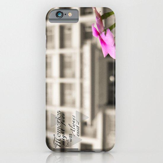 Memories always exist iPhone & iPod Case