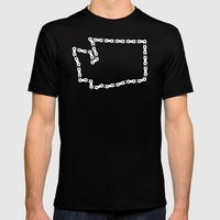 Ride Statewide - Washing… Mens Fitted Tee Black SMALL