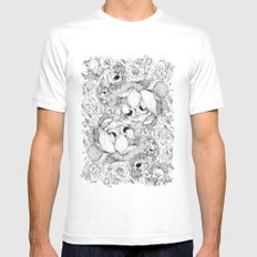 You Always Get What You Want 2 White SMALL Mens Fitted Tee