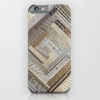 iPhone & iPod Case featuring Skyscraper Quilt by PatternPeople