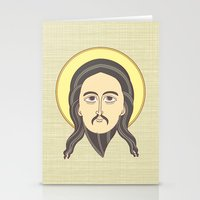 Jesus Icon Stationery Cards