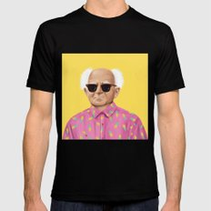The Israeli Hipster leaders - David Ben Gurion SMALL Black Mens Fitted Tee