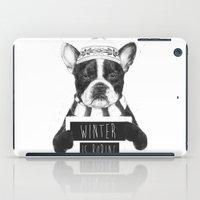 Winter Is Boring iPad Case