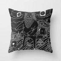 Muerto Viviente Throw Pillow
