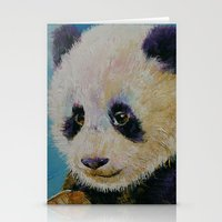 Panda Cub Stationery Cards