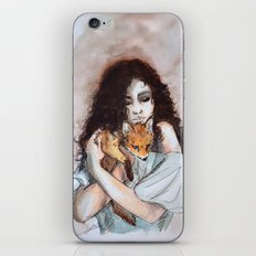 My fox, my love iPhone & iPod Skin