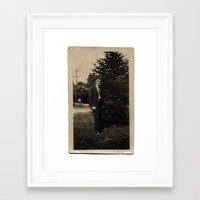 El Hermano Muerto Framed Art Print