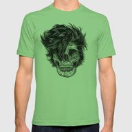 Dead Duran Mens Fitted Tee Grass SMALL