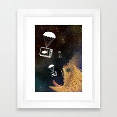 Media Control Framed Art Print