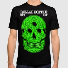 Skull Of Pripyat Mens Fitted Tee Black SMALL