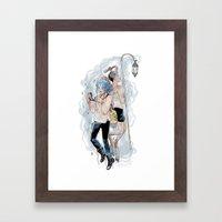 Karou and Madrigal Framed Art Print