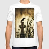 Strangest Of Days Mens Fitted Tee White SMALL