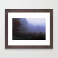Early Morning In A Foggy… Framed Art Print