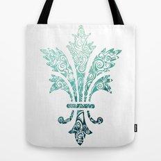 Fleur De Lis - French - Blue Tote Bag