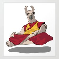 Dalai Llama Art Print