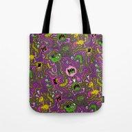 Tote Bag featuring Virus Appreciation Day by Chris Piascik