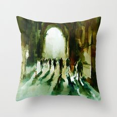 without an end or a beginning  Throw Pillow