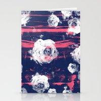 Roses & Skulls Stationery Cards