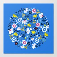Fresh Flora Canvas Print