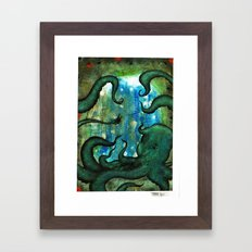 Polū Framed Art Print