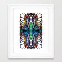 Birdplant Framed Art Print