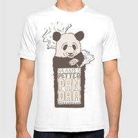 Petter Pan Daa Mens Fitted Tee White SMALL