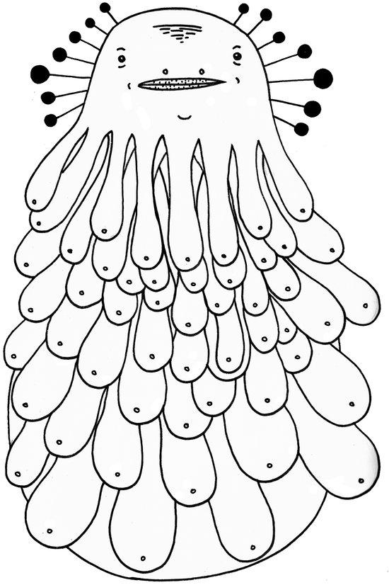 Booba the Hutt Art Print