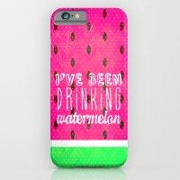 Drinking Watermelon iPhone 6 Slim Case