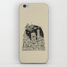 City At Night iPhone & iPod Skin