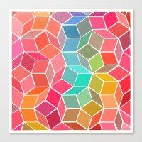Dimensions 1 Canvas Print