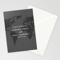 World Travel Stationery Cards
