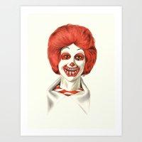 Dia De Los McMuertos Art Print