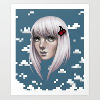 Bitty Art Print