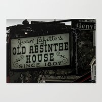 Old Absinthe House - NOL… Canvas Print