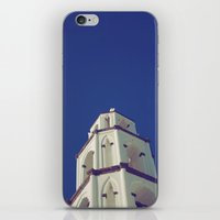 Santorini Churches III iPhone & iPod Skin