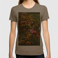 Hello! Womens Fitted Tee Tri-Coffee SMALL