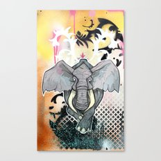 Stampede Part 1 Canvas Print