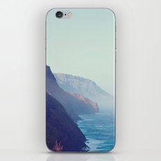Hawaii Mountains Along the Ocean iPhone & iPod Skin