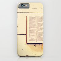 iPhone & iPod Case featuring Reading the Psalms by Jo Bekah Photography & Design